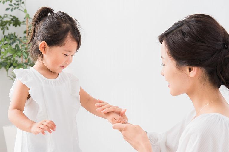 子どものアトピー性皮膚炎について