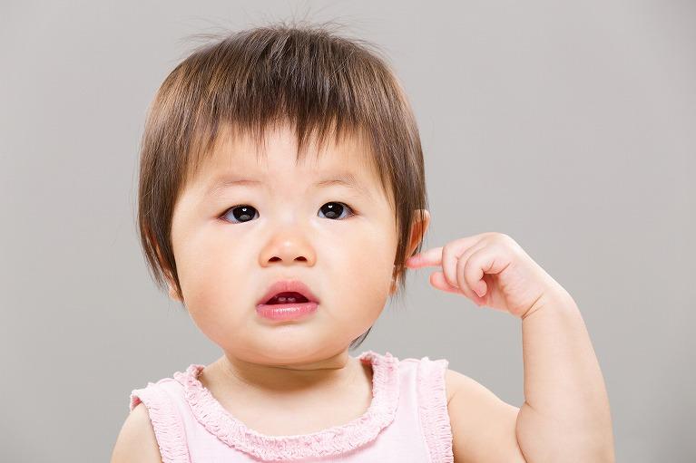 子どもの中耳炎について